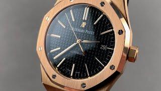 Audemars Piguet Royal Oak 15400OR.OO.D002CR.01 Audemars Piguet Watch Review
