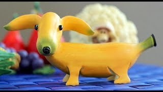 10 Banana Fun Food For Kids   Creative Food Art Ideas   Fruit & Vegetable Carving