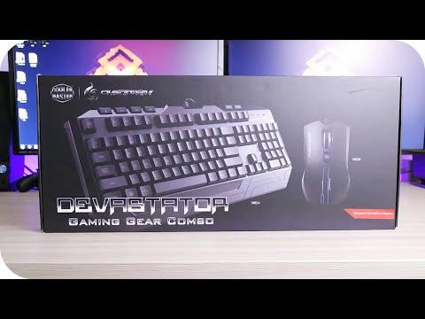 Mejor teclado y raton gamer barato: Cooler Master CM Storm Devastator Analisis Español