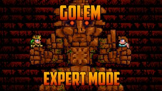 Terraria 1.3 - Golem Expert Mode Boss Battle