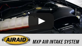In the Garage with Parts Pro Performance Centers™: AIRAID MXP Cold Air Intake System
