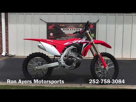 2021 Honda CRF250R in Greenville, North Carolina - Video 1