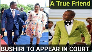 LATEST NEWS ;BUSHIRI TO APPEAR IN COURT /UEBERT ANGEL ASKED CHRISTIANS TO FAST AND PRAY .