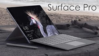 New Surface Pro (2017):  First Look