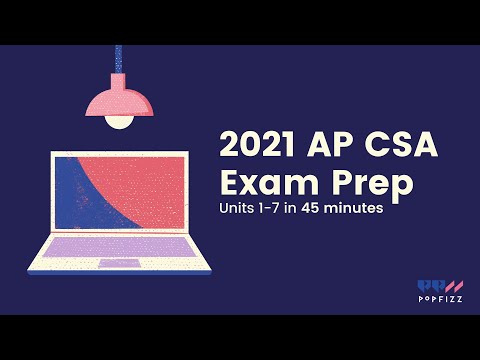 2021 AP CSA Review in 45 minutes (Units 1-7) - YouTube