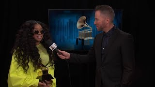 H.E.R. One-On-One Interview | 2019 GRAMMYs