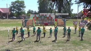 Танец детей. Фестиваль клубники 2018