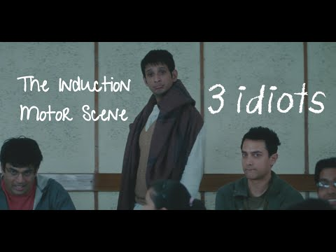 Download Induction Motor - Funny Scene | 3 Idiots | Aamir Khan | R Madhavan | Sharman Joshi HD Mp4 3GP Video and MP3