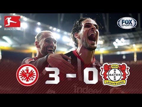 PASSEIO NA BUNDESLIGA! Veja os melhores momentos de Frankfurt e Bayer Leverkusen