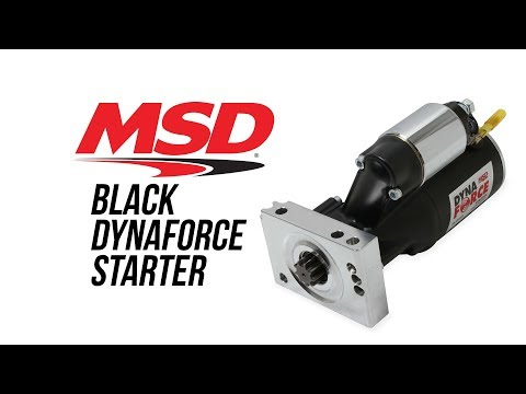 MSD DynaForce Black Starters