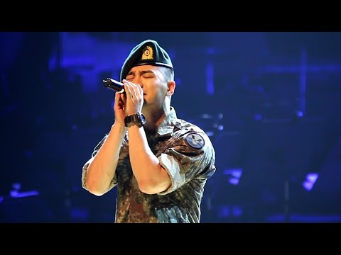 Big Bang(빅뱅)-TaeYang (태양) Performed the third R.O.K Army Band Concert in Yongin City 180704 군악연주회