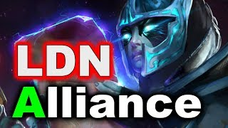 ALLIANCE vs London eSports - EU Open Quals FINAL - TI8 DOTA 2