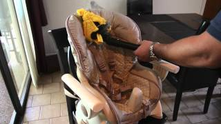 How To Treat A High Chair For Bed Bugs Using Steam