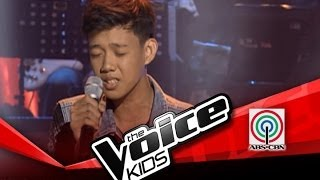 """The Voice Kids Philippines Blind Audition """"Ako'y Sa'yo at Ika'y Akin Lamang"""" by Rommel"""