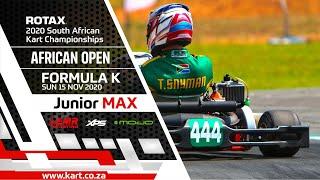 2020 African Open – Junior MAX