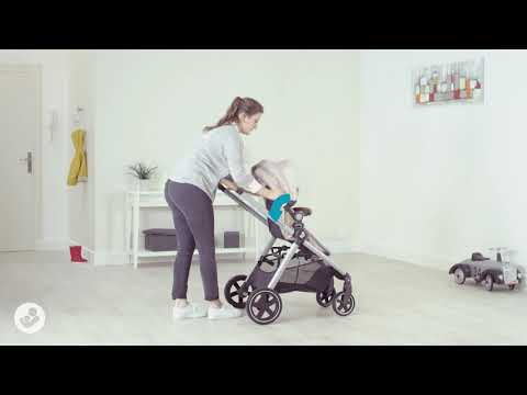 Zelia Stroller - How to unfold stroller?