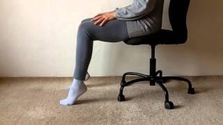 Füße im Sitzen - Feldenkrais-shorty