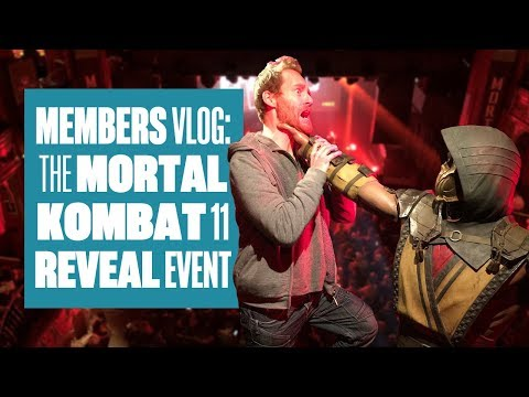 Ian Goes To The Mortal Kombat 11 Reveal Event - MEMBERS VLOG
