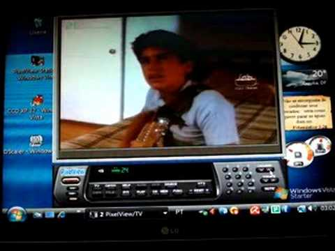Placa de Captura PixelView PlayTV Pro BT878 no Windows Vista