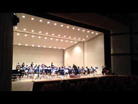 尾張旭市西中学校吹奏楽部の演奏