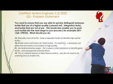 Certified Jenkins Engineer CJE 2020 Exam Practice Question 3 ...