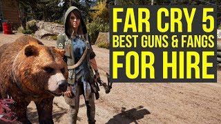 Far Cry 5 Tips And Tricks BEST GUNS & FANGS FOR HIRE (Far Cry 5 Tips Tricks - Farcry5 - Farcry 5)