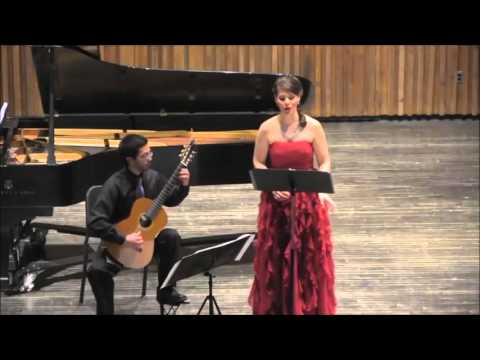 Seven Popular Spanish Songs by De Falle with Guitarist Jeremy Avalos