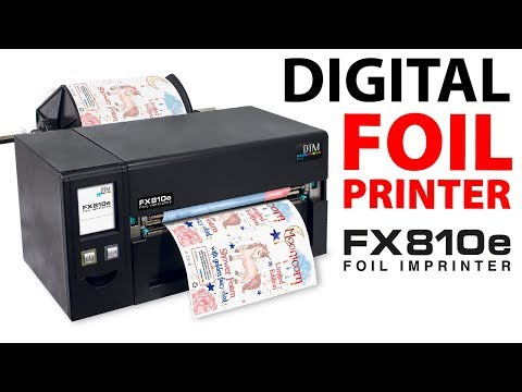 DTM FX810e - Foil Printer for labels up to 220 mm