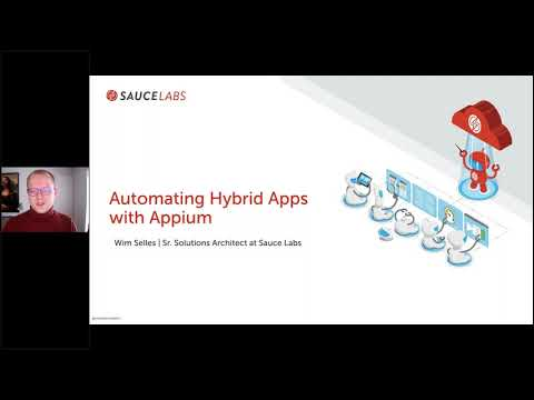 Automating Hybrid Applications with Appium Related YouTube Video