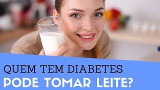 Diabético pode TOMAR LEITE? - Quem tem DIABETES pode tomar leite? Integral ou Desnatado?