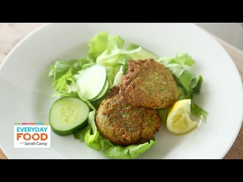 Chickpea Fritters – Everyday Food with Sarah Carey