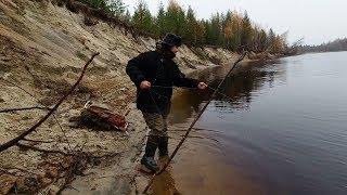 Ловля налима с берега осенью