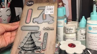 Craft Haul & Flash Giveaway: Tuesday Morning (Tim Holtz & Martha Stewart ) **GIVEAWAY CLOSED**