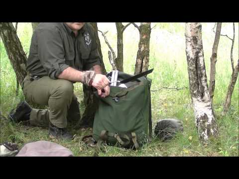 Bushcraft Kit Swedish LK35 Rucksack review