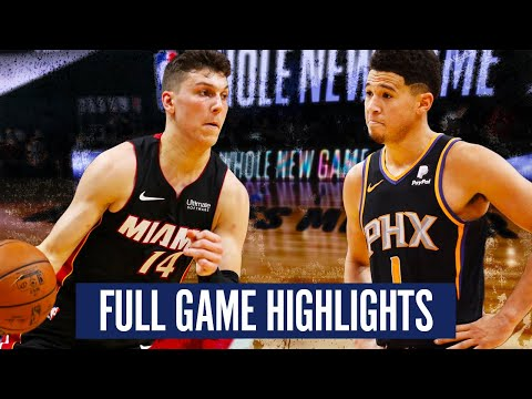 PHOENIX SUNS vs MIAMI HEAT – FULL GAME HIGHLIGHTS | 2019-20 NBA SEASON