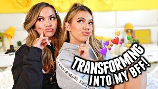 TRANSFORMING INTO MY FRIEND! Chit chat grwm with Heart Defensor aka us yelling for 27 min straight