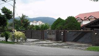 preview picture of video 'Penang Tanjung Bungah Hillside Bungalow For Rental'