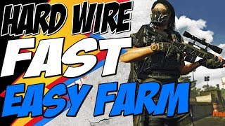 How to GET HARD WIRED GEAR SET FAST and EASY The Division 2 and Farm Hard Wired Tech