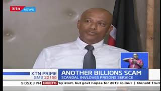 EACC bursts a SHS, 4.8 B tender that was disguised as security items