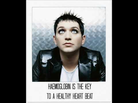Placebo Haemoglobin Lyrics on screen