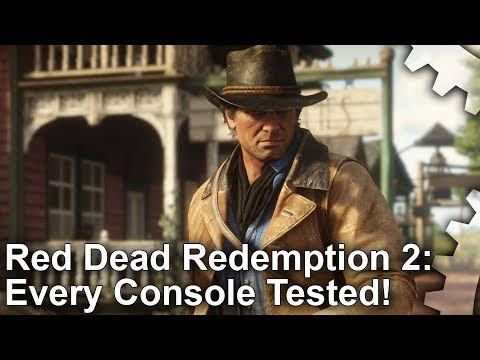 Red Dead Redemption 2 comparatif PS4 Xbox