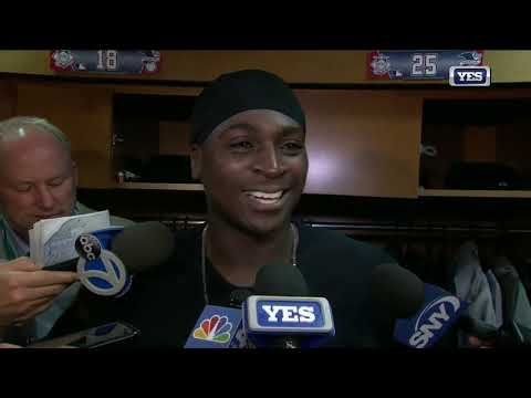 Didi Gregorius postgame interview after ALCS Game 1