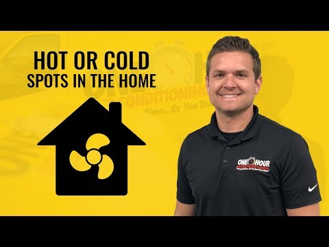 Hot or Cold Spots In The Home | Heating & Air Conditioning Service Fort Worth & Plano Area
