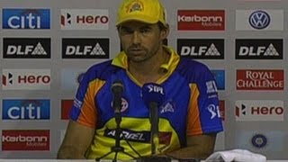 Stephen Fleming and CSK