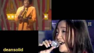 Charice & Michael (duet) Got to be there, Ben, I'll be there (double play video)