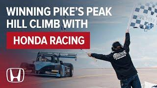 Robin Shute, first Briton to win the Pike's Peak International Hill Climb
