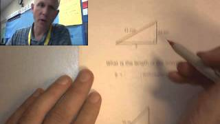 IXL 8th R.1 Pythagorean Theorem Find The Lenght Of The Hypotenuse