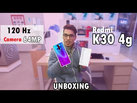 Redmi K30 4G Cheapest in 2019 - UNBOXING & 1ST LOOK