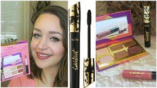 Testing New Tarte! Glam Goodies & Tarteist Lash Paint Mascara! Review & Demo | DreaCN