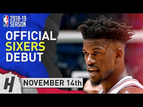 Jimmy Butler 76ers DEBUT Full Highlights Vs Magic 2018.11.14 - 14 Pts, 2 Ast, 4 Rebounds! Mp3